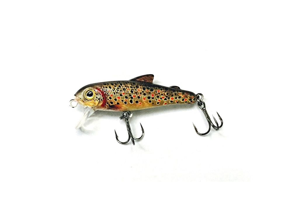 Bullet lures the five 0 minnow for Lake trout fishing lures