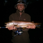 Brown Trout on Brook Trout Bullet Minnow