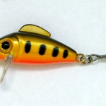 Yellow Pearl with UV painted belly